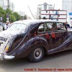 Rolls-Royce Silver Wraith 1956 года на ралли Bosch Moskau Klassik 2018