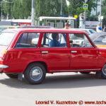 "ВАЗ-2102 ""Жигули"" 1977 года на ралли Bosch Moskau Klassik 2018"