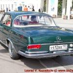 Mercedes-Benz 220 SEV 1964 года на ралли Bosch Moskau Klassik 2018