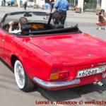 FIAT Sport Spyder 1966 года на ралли Bosch Moskau Klassik 2018