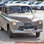 "ГАЗ-М20 ""Победа"" 1953 года на ралли Bosch Moskau Klassik 2018"
