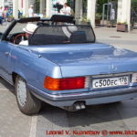 Mercedes-Benz 280 SL (W107)1979 года на ралли Bosch Moskau Klassik 2018