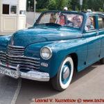 """ГАЗ-М20Б """"Победа"""" кабриолет 1950 года на ралли Bosch Moskau Klassik 2018"""