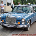 Mercedes-Benz 300 SEL (W109) 1968 года на ралли Bosch Moskau Klassik 2018