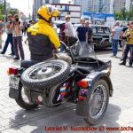 "Мотоцикл ""Урал Кавказ"" на ралли Bosch Moskau Klassik 2018"