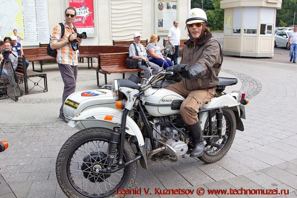 "Мотоцикл ""Урал Арктика"" на ралли Bosch Moskau Klassik 2018"
