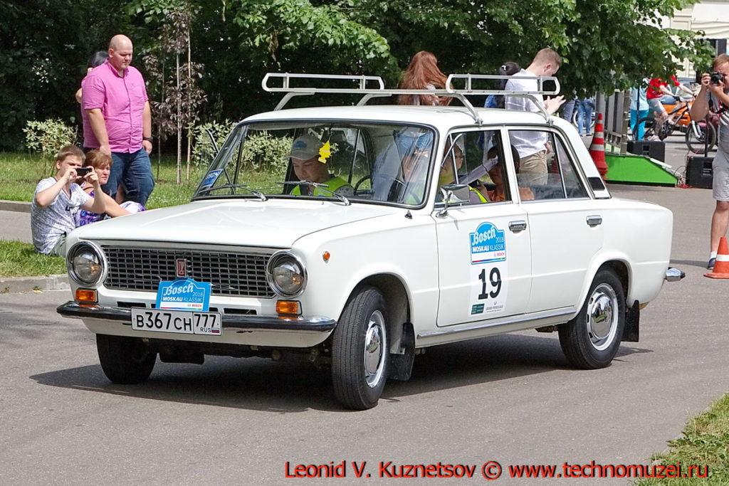 "ВАЗ-21011 ""Жигули"" 1978 года на ралли Bosch Moskau Klassik 2018"