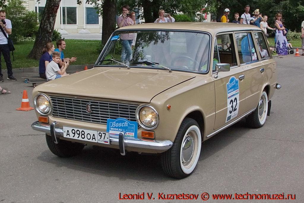 "ВАЗ-2102 ""Жигули"" 1983 года на ралли Bosch Moskau Klassik 2018"