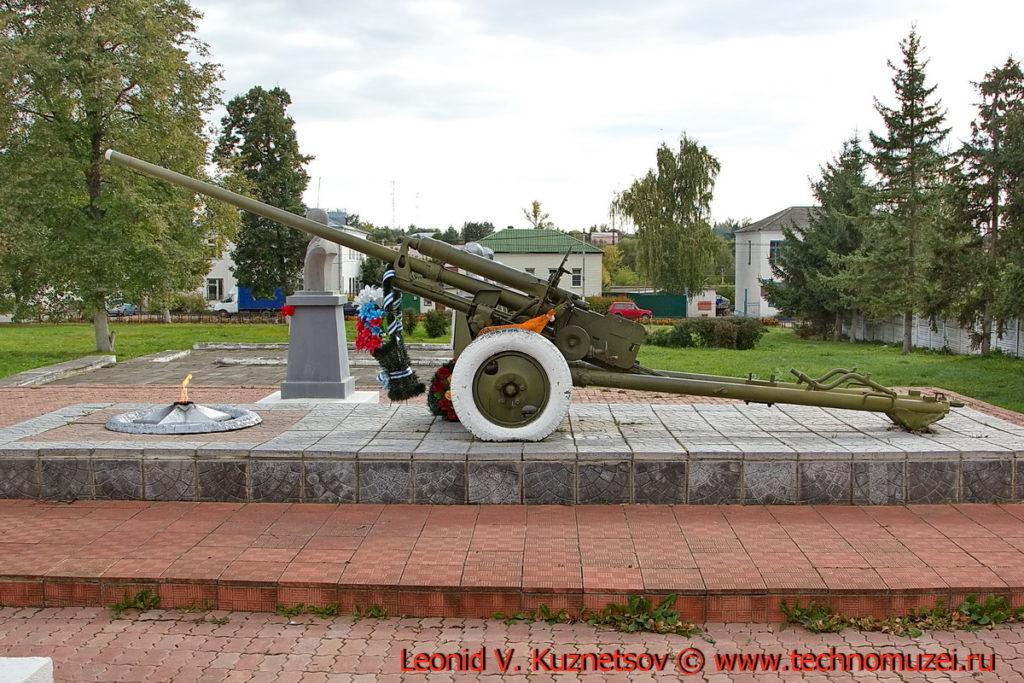Памятник пушка ЗиС-2 в Малоархангельске