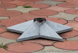 Памятник гаубица 2С1 Гвоздика в Малоархангельске