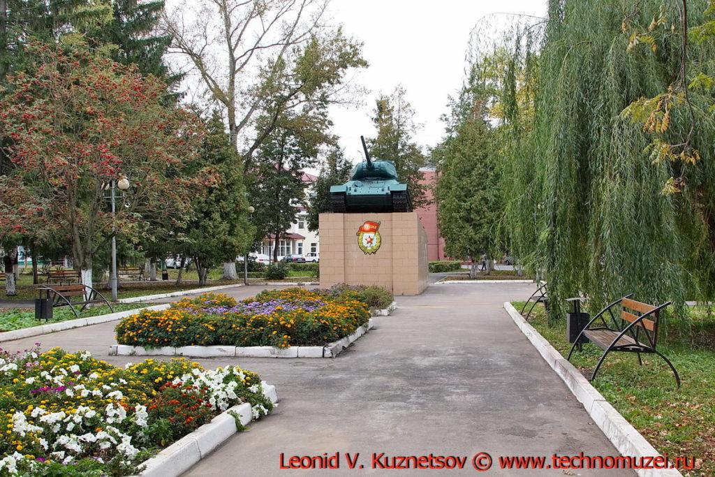 Сквер танкистов-первогвардейцев в Мценске