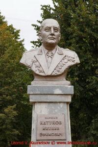 Памятник М.Е. Катукову в Мценске
