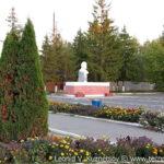 Центральная площадь в Нарышкино Орловской области
