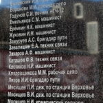 Памятник железнодорожникам в пгт Верховье Орловской области