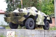 БРДМ-2 у проходной 22-го БТРЗ