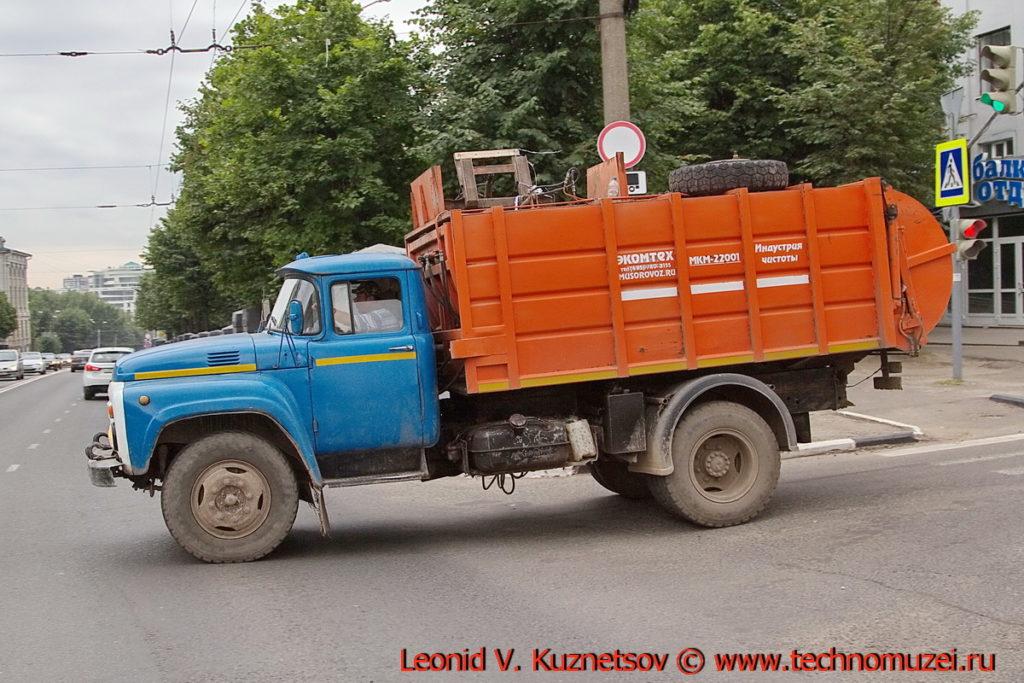 Мусоровоз МКМ-22011 в Иваново