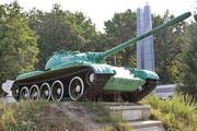 Танк Т-55 памятник в Кимовске