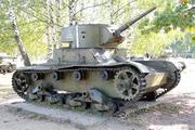 Танк Т-26 в Ленино-снегиревском Военно-историческом музее