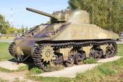 Танк M4-A2 Sherman в Ленино-снегиревском Военно-историческом музее
