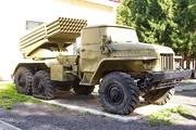 БМ-21 Град в Ленино-снегиревском Военно-историческом музее