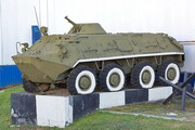"БТР-60ПБ у музея ""Бункер Сталина"""