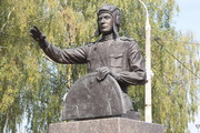 Памятник танкисту Драгунскому в Солнечногорске