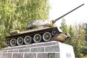 Танк Т-34-85 памятник в Солнечногорске