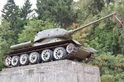 Танк Т-34-85 памятник в Зеленограде