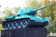 Танк Т-34-85 памятник в Измайловском парке, Москва