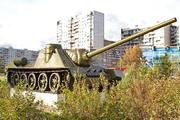 Памятник СУ-100 в Строгино г.Москва