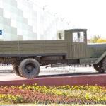 Памятник автомобиль УралЗиС-5В в Совхозе имени Ленина