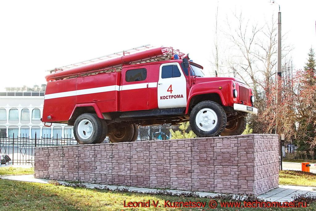Памятник пожарным и спасателям Костромской области