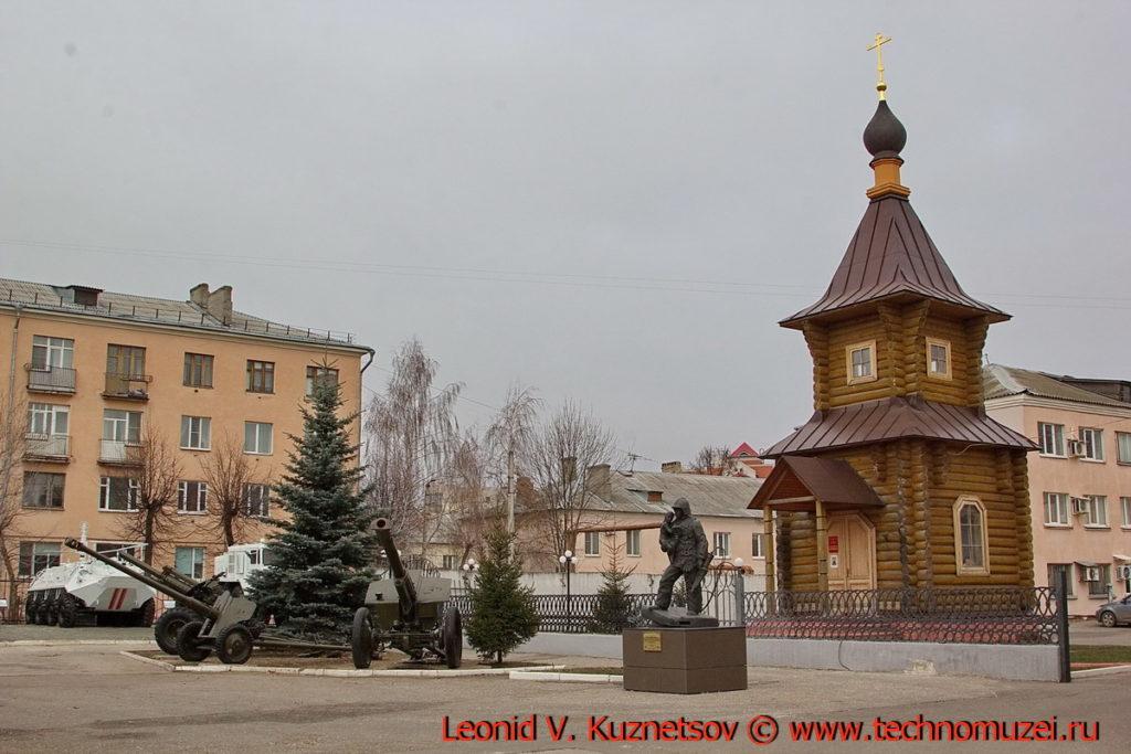 Часовня Неопалимая Купина перед областным управлением МЧС во Владимире
