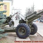 Гаубица М-30 перед областным управлением МЧС во Владимире