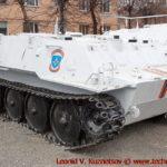 Транспортер ГТ-МУ РХМ-2 перед областным управлением МЧС во Владимире