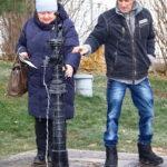 Старинная водяная колонка во Владимире