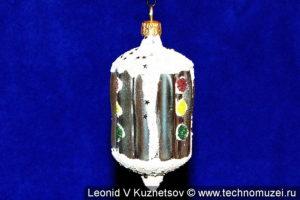 Елочная игрушка светофор