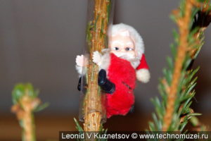 Дед Мороз на прищепке