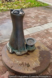 Памятник котам и собакам, пострадавшим от автомобилей в Костроме