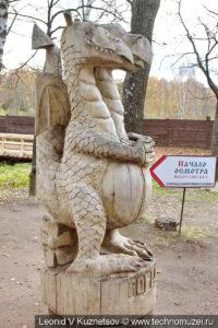 Змей Горыныч в этнографическом музее Костромская слобода