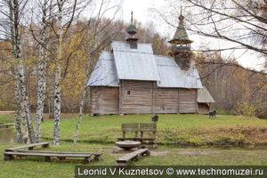 Церковь Всемилостливого Спаса в этнографическом музее Костромская слобода