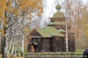 Церковь Ильи Пророка в этнографическом музее Костромская слобода