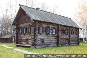 Дом крестьянина Скобёлкина в этнографическом музее Костромская слобода