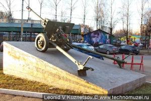 Памятник пушке ЗиС-3 в Костроме