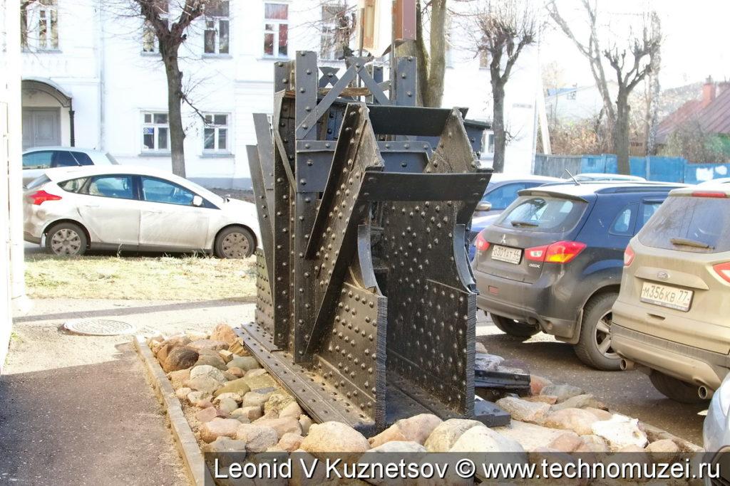 Фрагмент Ярославского железнодорожного моста в Костроме