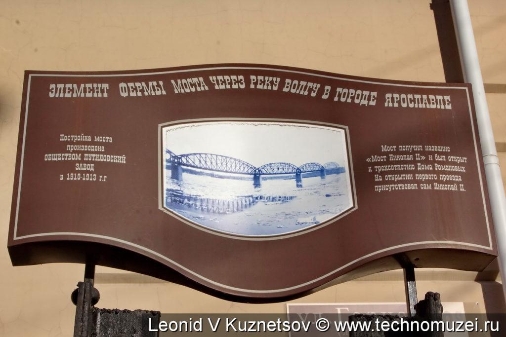 Фрагмент ярославского моста в Костроме
