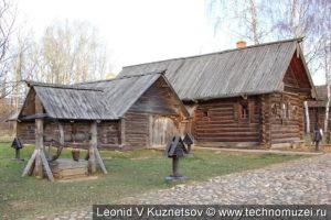 Дом крестьянки Лоховой в этнографическом музее Костромская слобода
