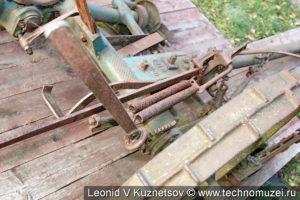 Конная косилка К-1001 Люберецкого завода в этнографическом музее Костромская слобода