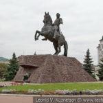 Памятник генералу Ермолову в Орле