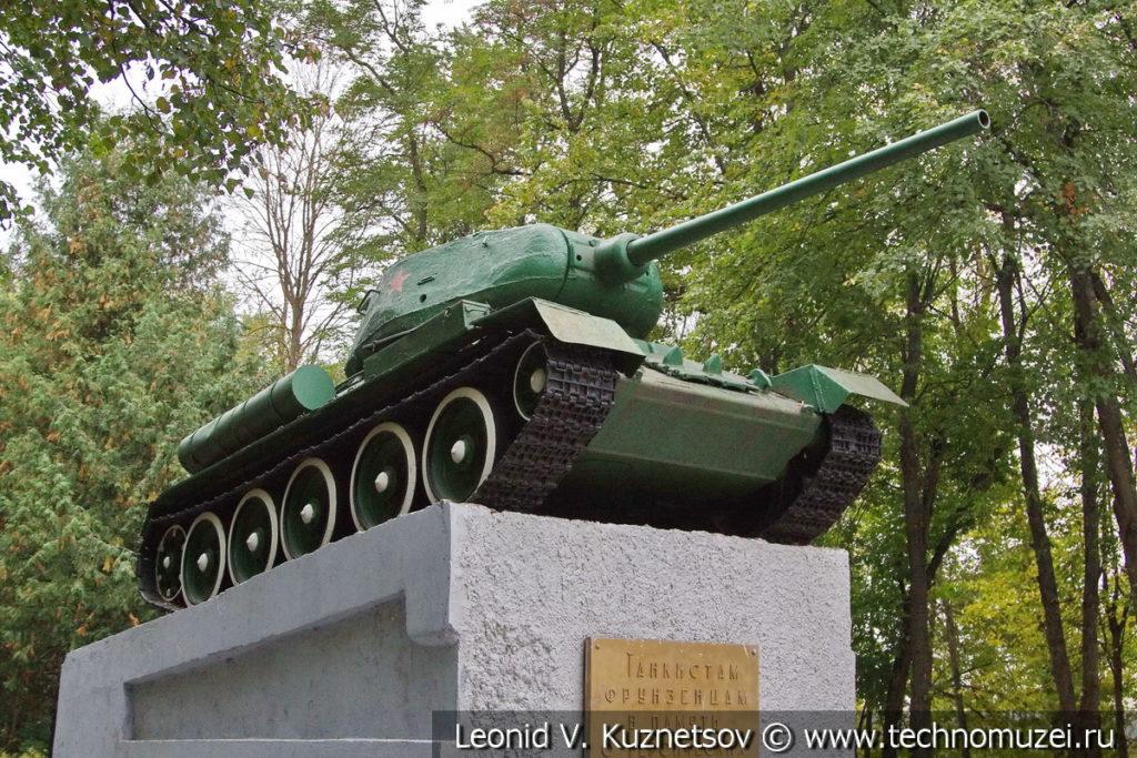 Т-34 Памятник танкистам-фрунзенцам в Орле